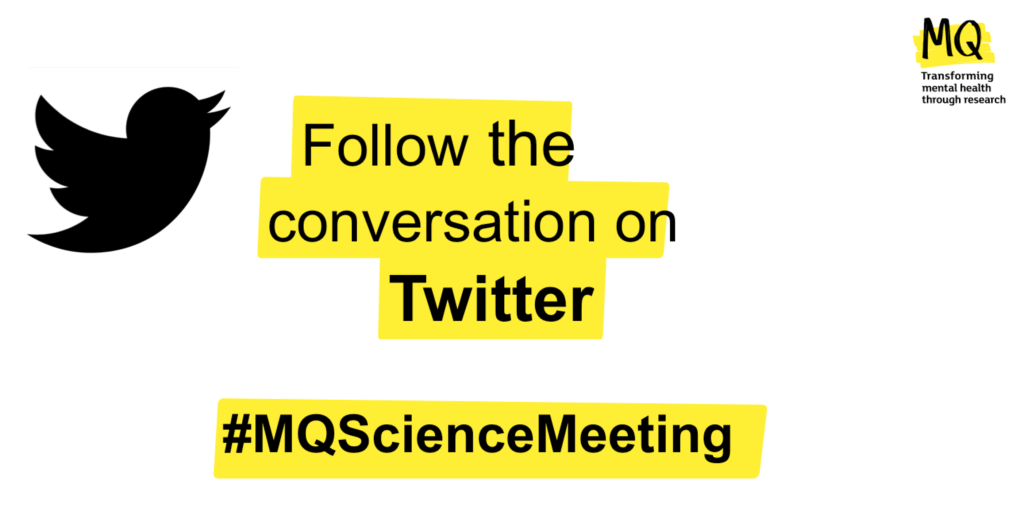 Follow #MQScienceMeeting on Twitter for conversations about the latest cutting edge science.