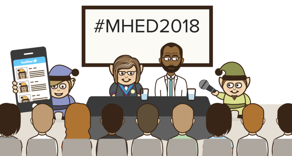 Follow #MHED2018 on Twitter for the latest research, policy and practice relating to education and mental health.