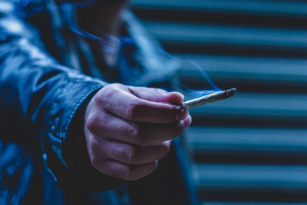 The limitations of this study include confounding factors such as cannabis use, self reporting which may lead to recall bias, and significant levels of drop out.