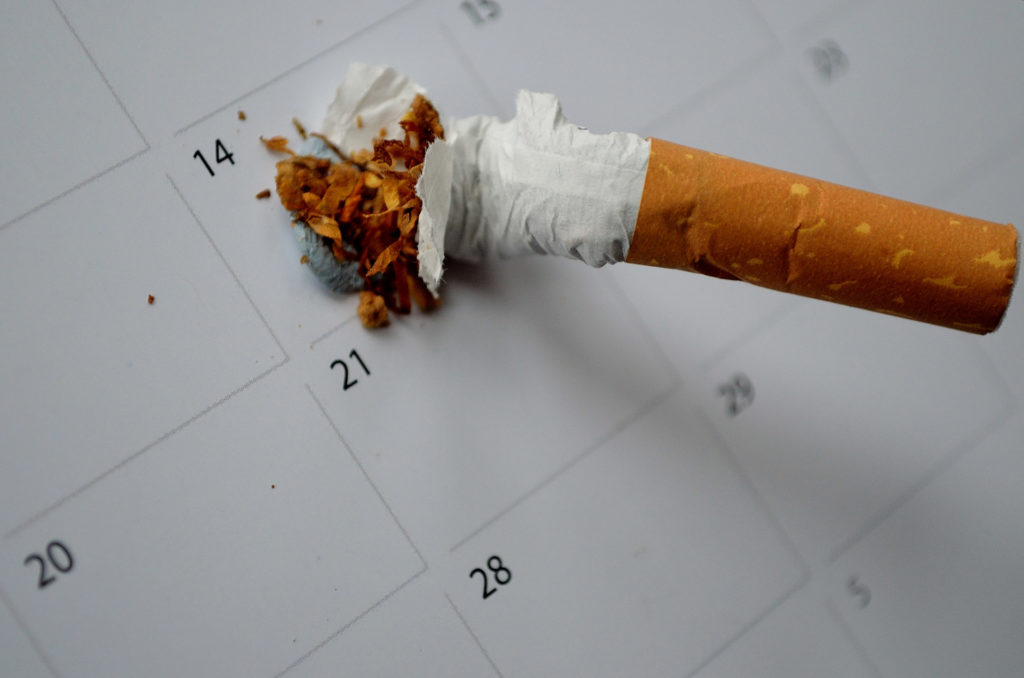 The SCIMITAR+ bespoke smoking cessation intervention was successful in the short-term (6 months), but no longer statistically significant at 12 months.