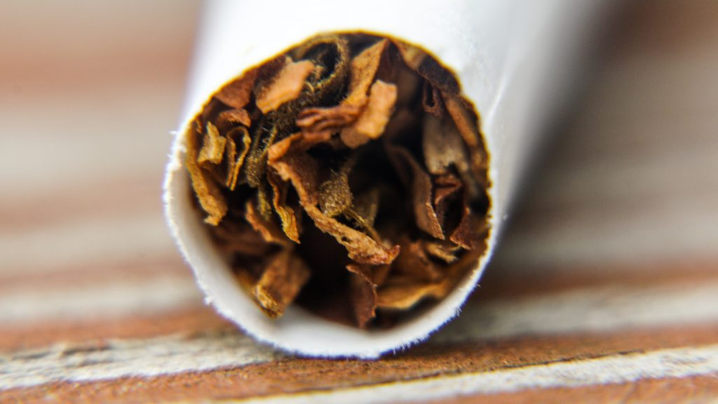 Tobacco creates physical and psychological dependence to a greater extent than cannabis, which makes it difficult to know how much of a role tobacco dependence played in this trial.