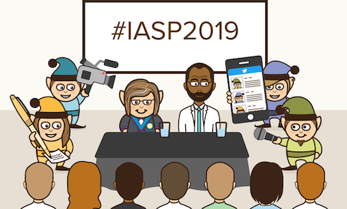 Follow #IASP2019 on Twitter for all the updates from the 30th World Congress of the International Association for Suicide Prevention