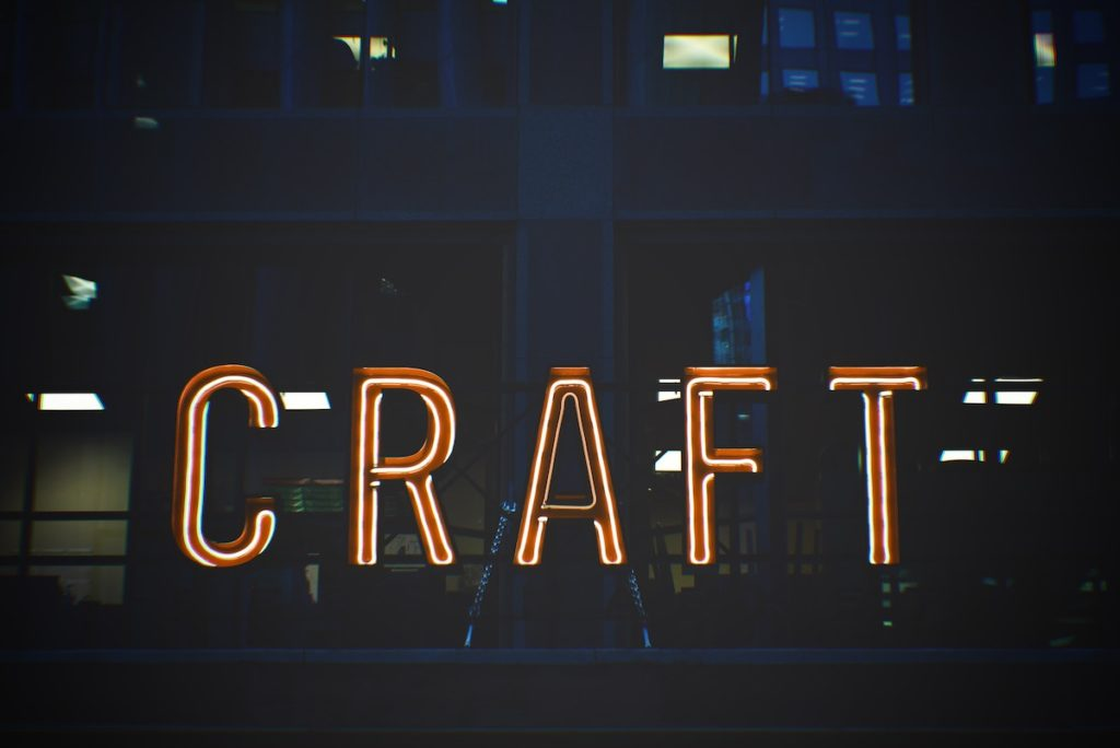 Craft-based activities are associated with relaxation, happiness, socialising and a sense of identity.