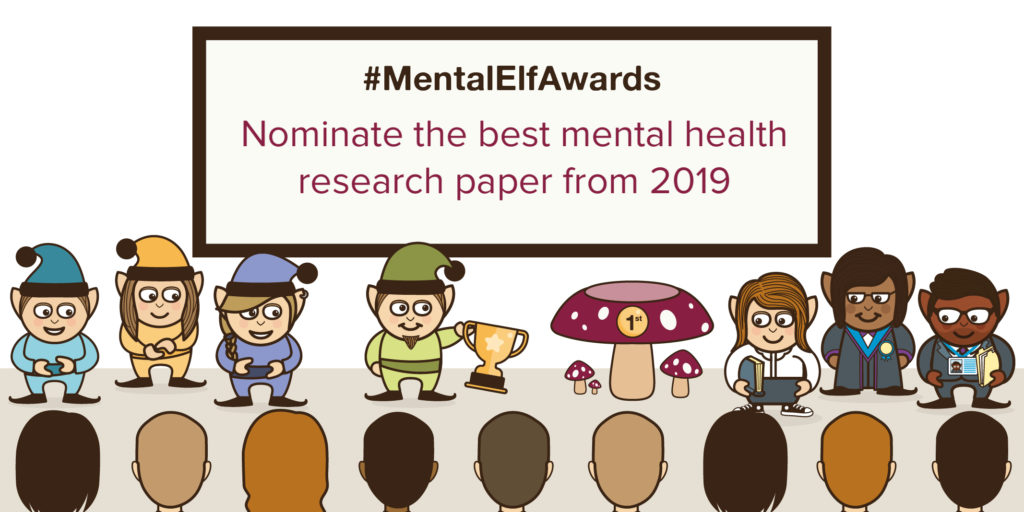 Nominate your favourite mental health research paper of 2019
