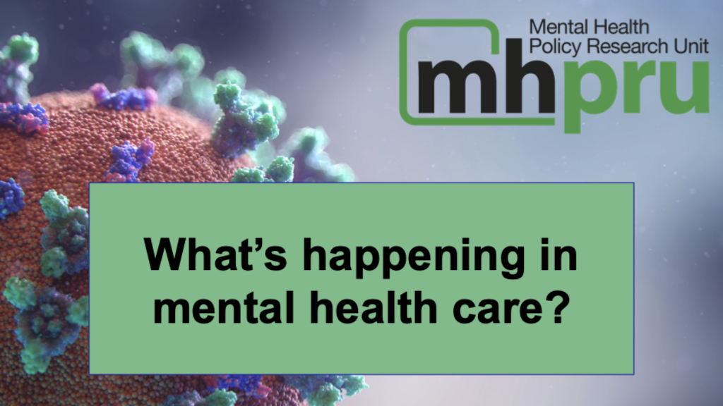 If you work in mental health services, please take this survey now to help the Mental Health Policy Research Unit better understand what's happening now in mental health care: https://elfi.sh/covidmh-survey