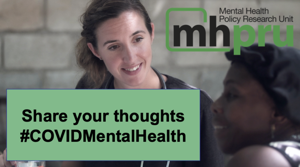 Last week, theMental Health Policy Research Unit launched asurveyto investigate staff reports regarding impacts on the mental health care system of the pandemic.