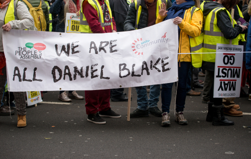 Ken Loach's film, 'I, Daniel Blake' gave a powerful portrayal of the challenges faced by welfare claimants