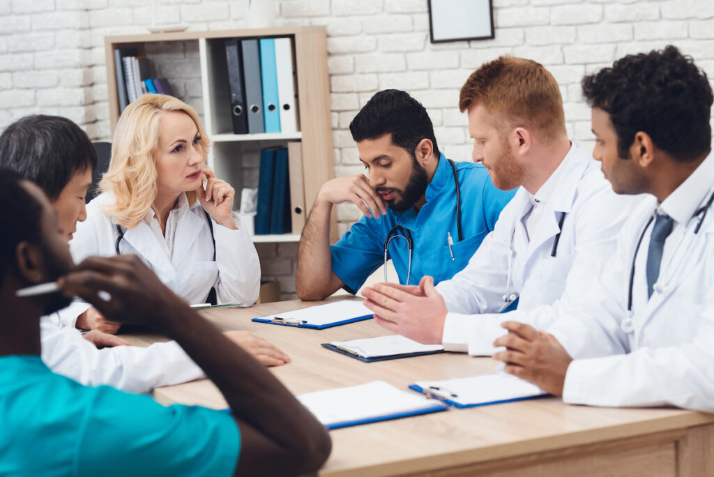 Clinical discussion is necessary for safe decision-making and reflection among clinicians and practitioners.