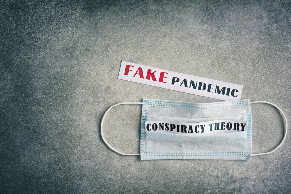"This study suggests that a ""substantial minority"" of the population of England endorse conspiracy beliefs about the coronavirus and are less likely to comply with government guidance."