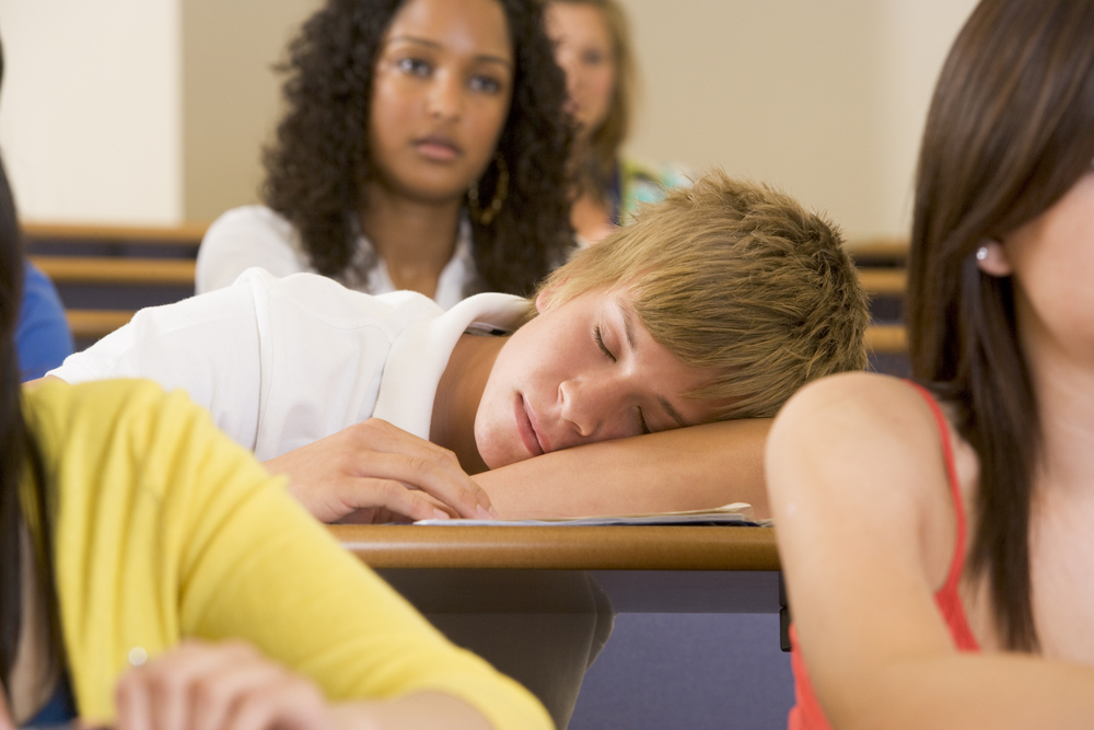 Sleep disorders should be screened for as part of every mental health evaluation of young people.