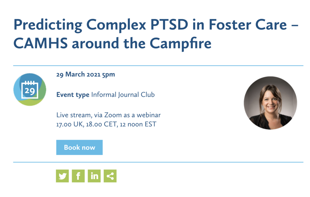 Sign up now to our FREE #CAMHScampfire event!