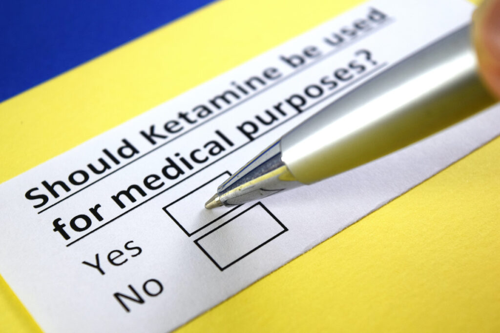 The small participant sample is a side-effect of the fact that there are only two clinics in the UK currently offering ketamine treatment.