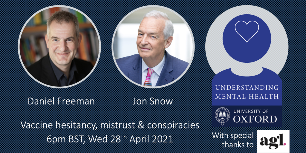 Register for the forthcoming webinar on vaccine hesitancy, mistrust and conspiracies.