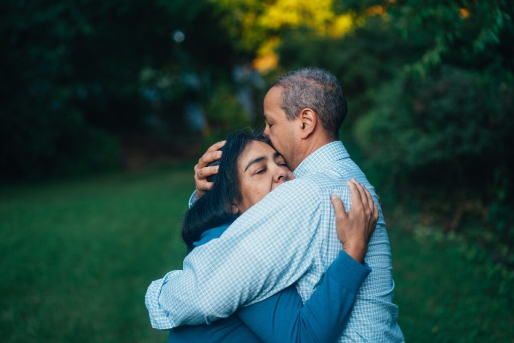 Participants receiving the Care Ecosystem intervention for dementia care had higher quality of life, and their carers reported fewer depression symptoms, fewer feelings of burden and higher self-efficacy to care for their loved ones.