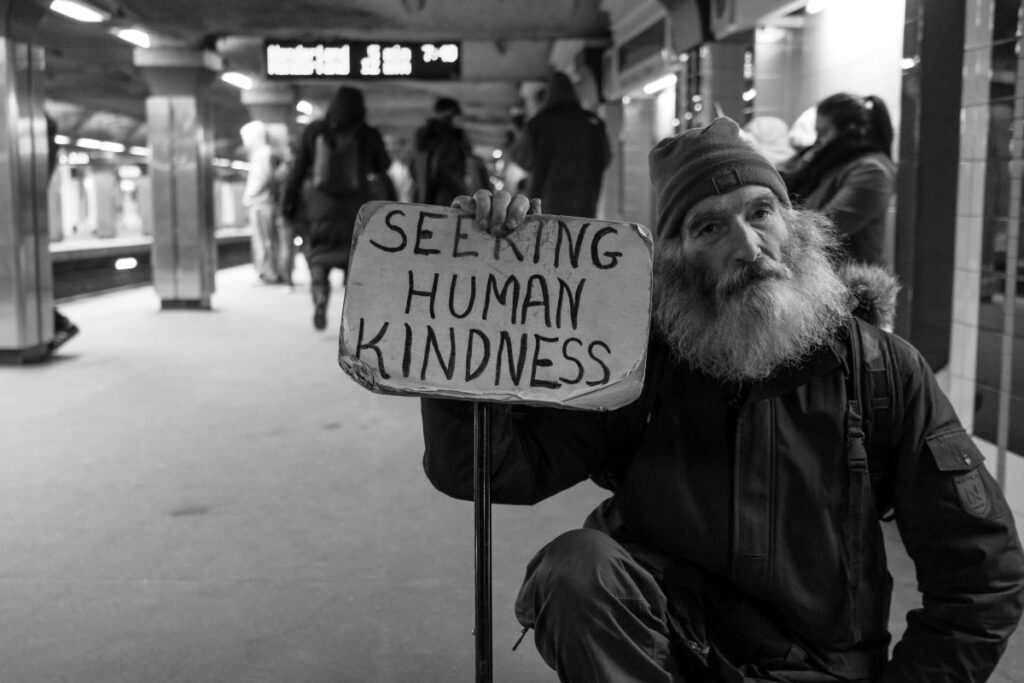 Rates of homelessness are rising and homeless people find it difficult to access welfare and mental health services