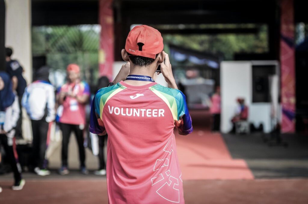 Volunteering can be a win-win: improving the health of the volunteer and helping to support valuable community services.
