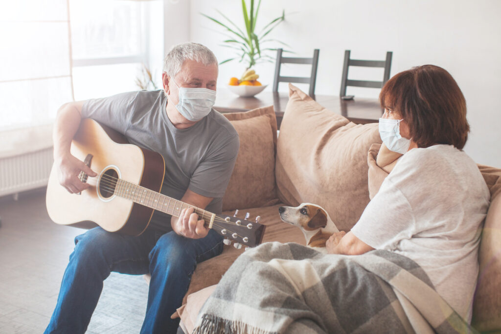 A new performing arts intervention designed for people with dementia and their carers may have beneficial effects for caregivers' quality of life.